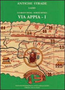Foto Cover di Via Appia. Da Roma a Bovillae. Vol. 1, Libro di  edito da Ist. Poligrafico dello Stato