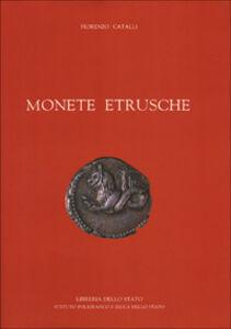 Libro Monete etrusche Fiorenzo Catalli