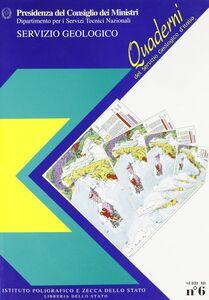 Libro Quaderni del Servizio geologico d'Italia. 3ª serie. Vol. 6