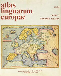 Foto Cover di Atlas linguarum Europae (1/5), Libro di  edito da Ist. Poligrafico dello Stato