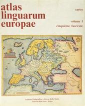 Atlas linguarum Europae (1/5)