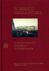 Foto Cover di Il senato nell'età moderna e contemporanea, Libro di  edito da Ist. Poligrafico dello Stato