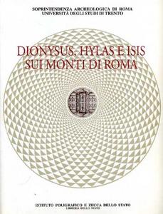 Libro Dionysus, Hylas e Isis sui monti di Roma Mariette De Vos