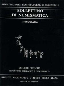 Monete puniche. Repertorio epigrafico e numismatico delle legende puniche