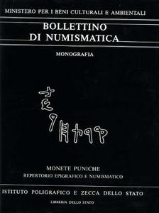 Libro Monete puniche. Repertorio epigrafico e numismatico delle legende puniche Lorenza I. Manfredi