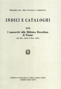 I manoscritti della Biblioteca riccardiana di Firenze