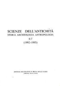Libro Scienze dell'antichità (6-7)