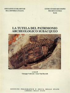 Libro La tutela del patrimonio archeologico subacqueo