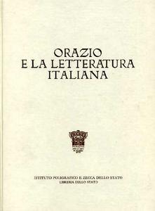 Libro Orazio e la letteratura italiana