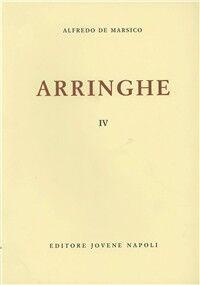 Arringhe. Vol. 4