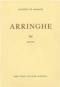 Arringhe. Vol. 3