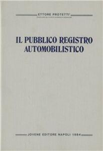 Il pubblico registro automobilistico