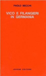 Libro Vico e Filangieri in Germania Paolo Becchi