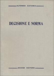 Decisione e norma