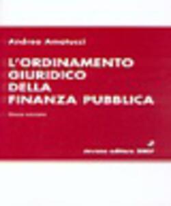 L' ordinamento giuridico della finanza pubblica