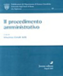 Libro Il procedimento amministrativo