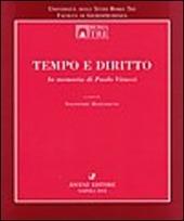 Tempo e diritto. In memoria di Paolo Vitucci