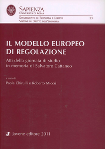 Libro Il modello europeo di regolazione