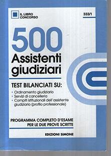 Radiosenisenews.it Cinquecento assistenti giudiziari. Test Image
