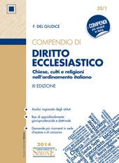 Compendio di diritto ecclesiastico. Chiese, culti e religioni nell'ordinamento italiano