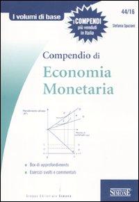 Compendio di economia monet...