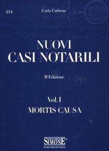 Atomicabionda-ilfilm.it Nuovi casi notarili. Vol. 1: Mortis causa. Image