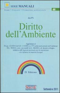 Libro Diritto dell'ambiente