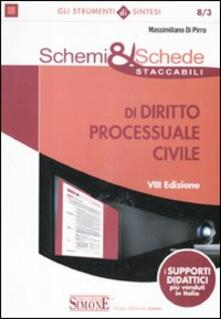 Radiospeed.it Schemi & schede staccabili di diritto processuale civile Image