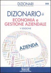 Libro Dizionario di economia e gestione aziendale