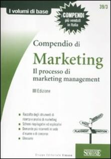 Vastese1902.it Compendio di marketing. Il processo di marketing management Image