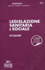 Legislazione sanitaria e sociale