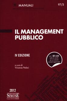 Librisulladiversita.it Il management pubblico Image