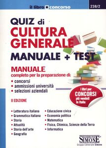 Libro Quiz di cultura generale. Manuale e test