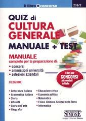 Quiz di cultura generale. Manuale e test