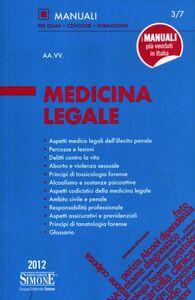 Libro Medicina legale