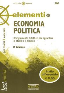 Promoartpalermo.it Elementi di economia politica Image