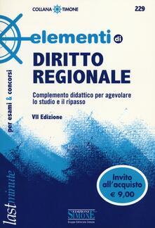 Rallydeicolliscaligeri.it Elementi di diritto regionale Image