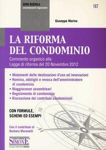 Libro La riforma del condominio Giuseppe Marino