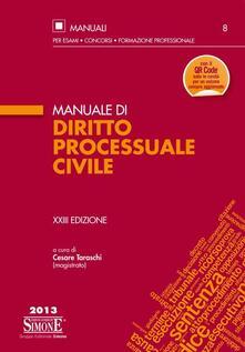 Writersfactory.it Manuale di diritto processuale civile Image