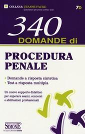 340 domande di procedura penale