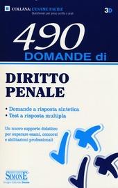 490 domande di diritto penale