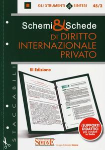 Libro Schemi & schede di diritto internazionale privato