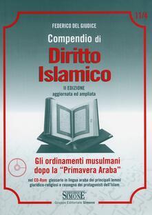 Promoartpalermo.it Compendio di diritto islamico. Con CD-ROM Image
