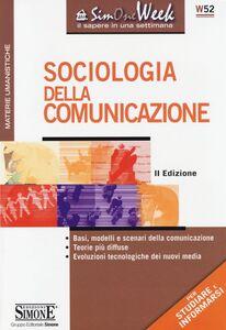 Libro Sociologia della comunicazione