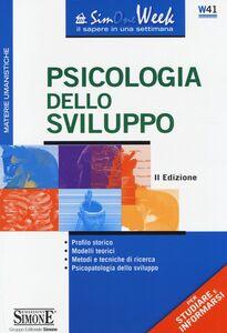 Libro Psicologia dello sviluppo