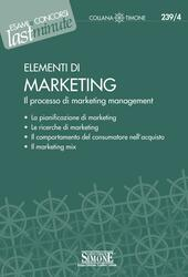 Elementi di marketing. Il processo di marketing management