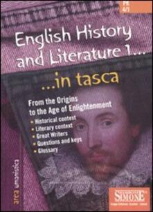 Recuperandoiltempo.it English history and literature. Vol. 1 Image
