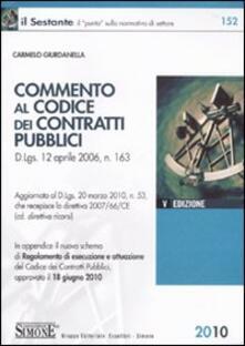 Commento al codice dei contratti pubblici.pdf