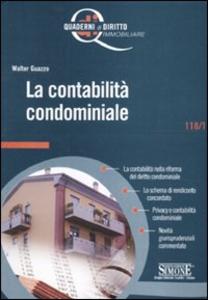 Libro La contabilità condominiale Walter Guazzo