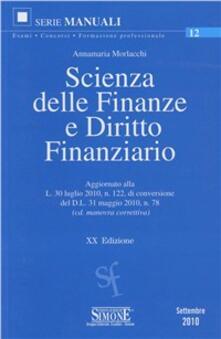 Listadelpopolo.it Scienza delle finanze e diritto finanziario Image